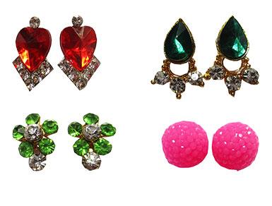 Kundal Bali Earrings Nosering