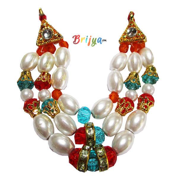 Elegant-Multi-Crystal-Perl-Laddu-Gopal-Mala