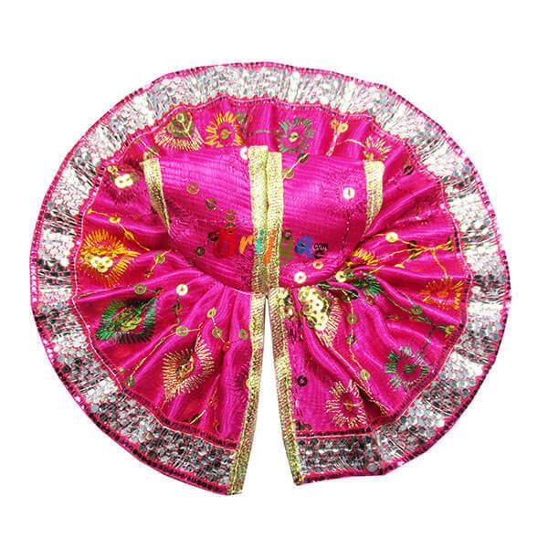Pink-Silk-Resham-Gota-Laddu-Gopal-Poshak-Dress
