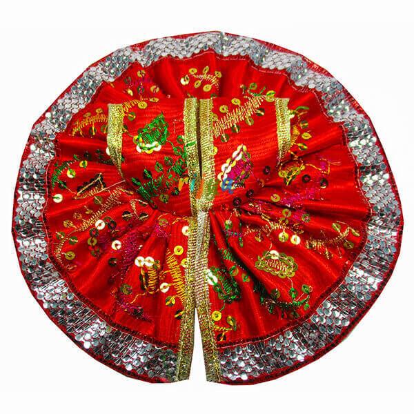 Red-Silk-Resham-Sitara-Gota-Laddu-Gopal-Poshak-Dress