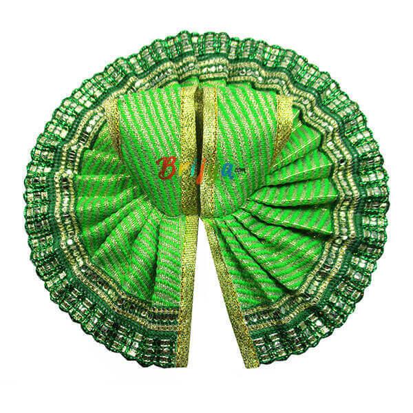 Green-Fabric-Silk-Gota-Work-Gopal-Poshak-Dress