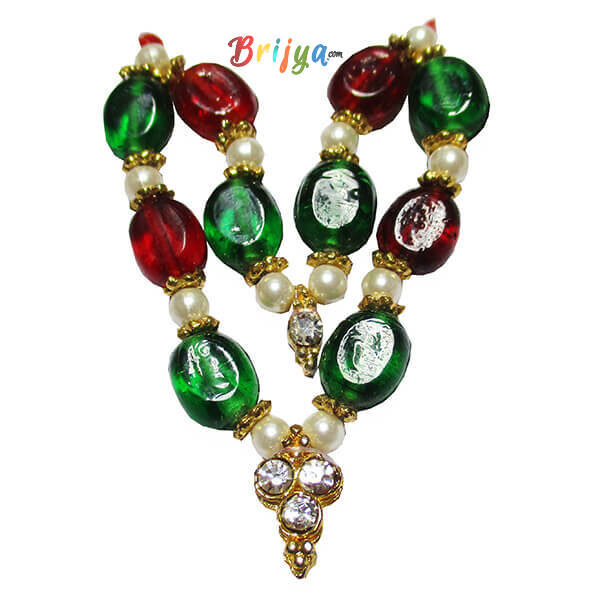 Red-Green-Stone-Ladoo-Gopal-Mala-1