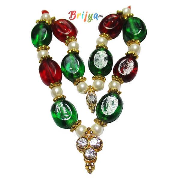 Red-Green-Stone-Ladoo-Gopal-Mala-1