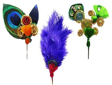 Krishna Feather Morpankh Kalangi