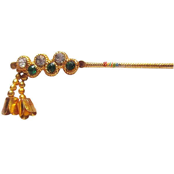 KF11-Elegant-Green-White-Stone-Krishna-Bansuri