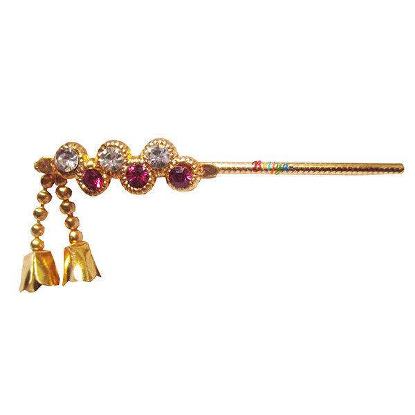 KF11-Elegant-Magenta-White-Stone-Krishna-Bansuri