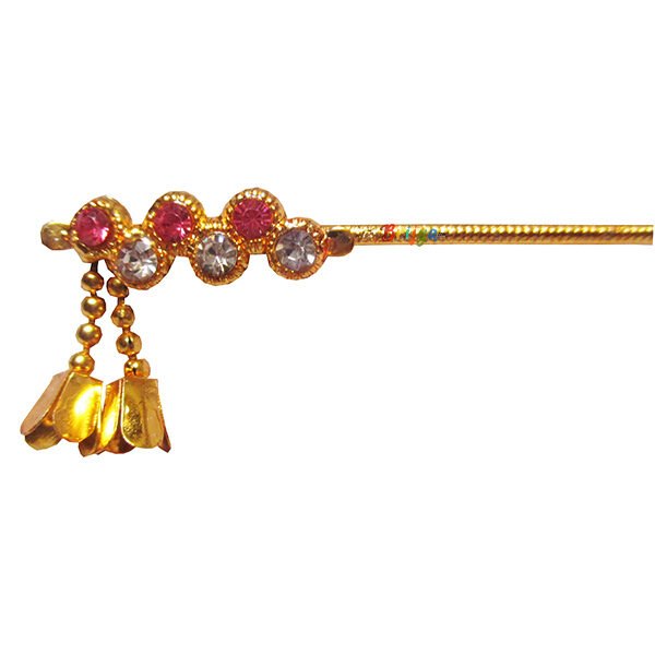 KF11-Elegant-Pink-White-Stone-Krishna-Bansuri