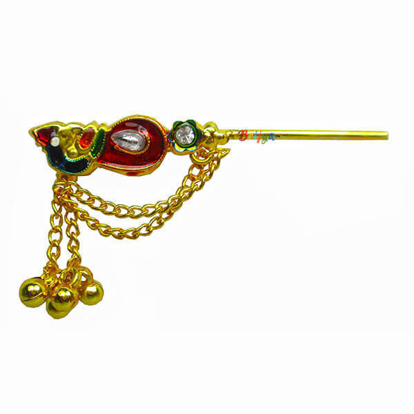 KF3-Beautiful-Multi-Stone-Krishna-Bansuri-1
