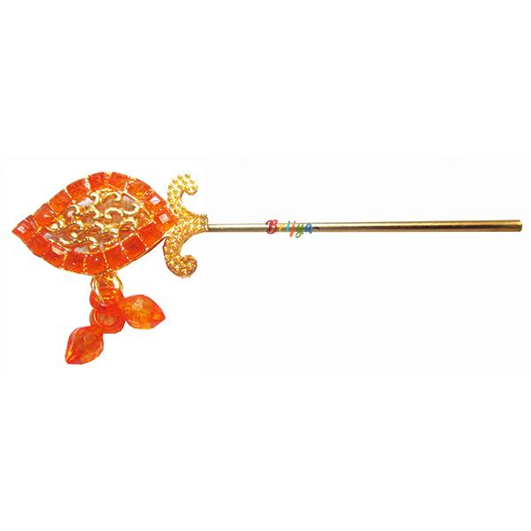 KF4-Beautiful-Orange-Stone-Krishna-Bansuri