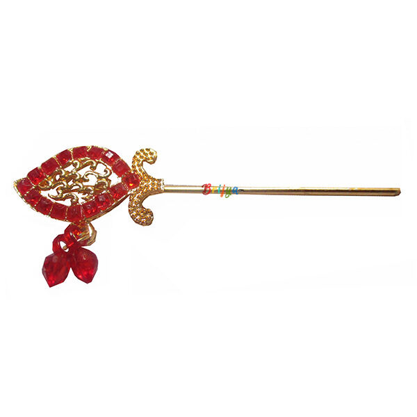 KF4-Beautiful-Red-Stone-Krishna-Bansuri