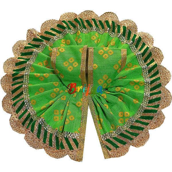 GD27-G Green Jaipuri Cotton Gopalji Dress
