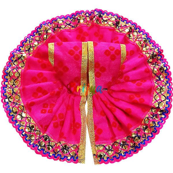 GD27-M Magenta Jaipuri Cotton Gopalji Dress
