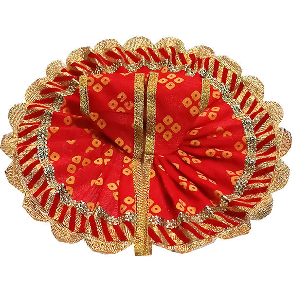GD27-R Red Jaipuri Cotton Gopalji Dress