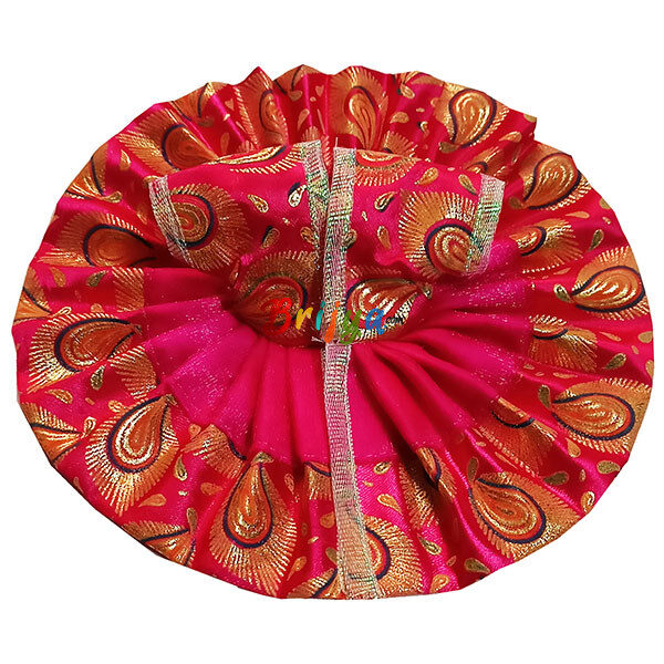 GD30-M Beautiful Magenta Oil Paint Laddu Gopal Dress