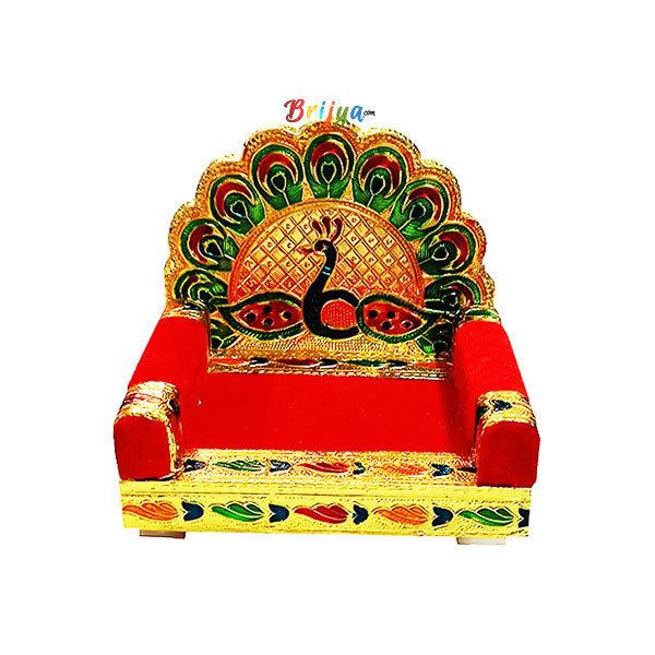 GS1-Navrang Meenakari Singhasan For Gopal Ji