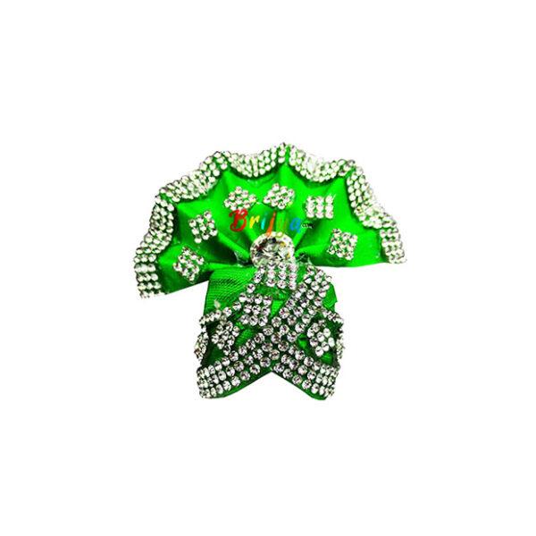 Green-Rich-Jarkan-Stone Work Gopal-Pagdi