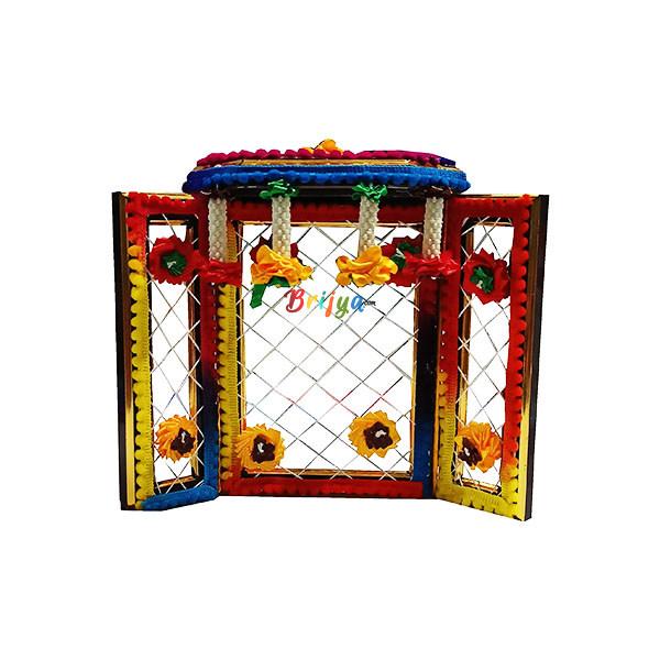 PD3-MU Multy Phool Bangla For Laddu Gopal Ji