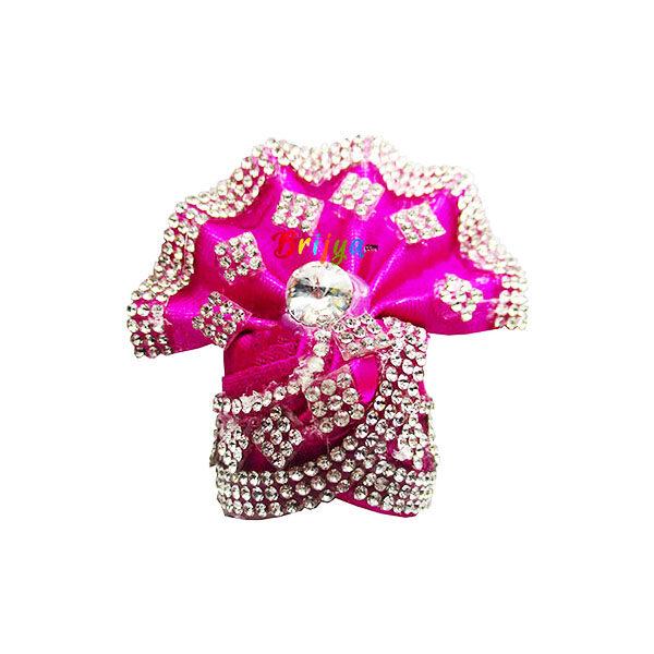 Pink-Rich-Jarkan-Stone-Work-Gopal-Pagdi