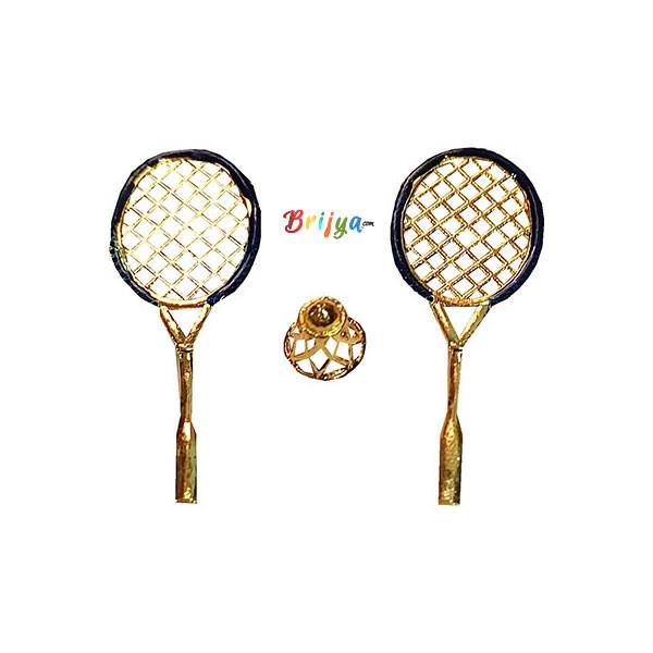 GT12-B Blue badminton Set For Laddu Gopal Ji